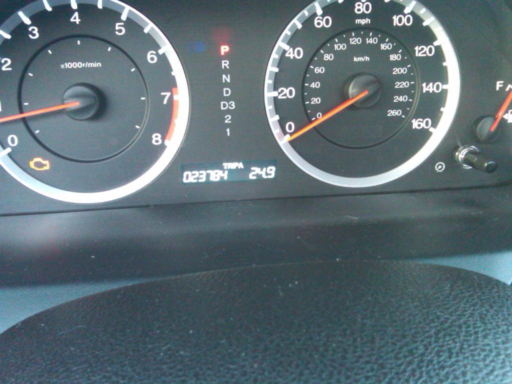 honda accord engine light    complaints