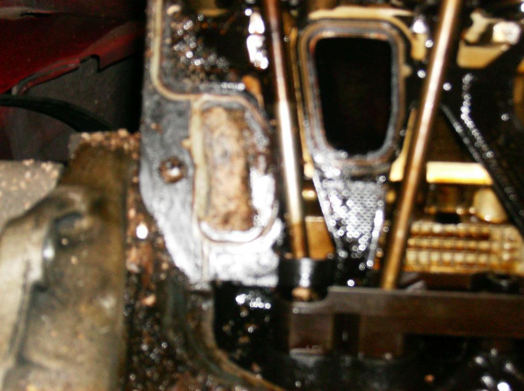 Intake Manifold Gasket Leak : Pontiac grand am leaking coolant cracked intake