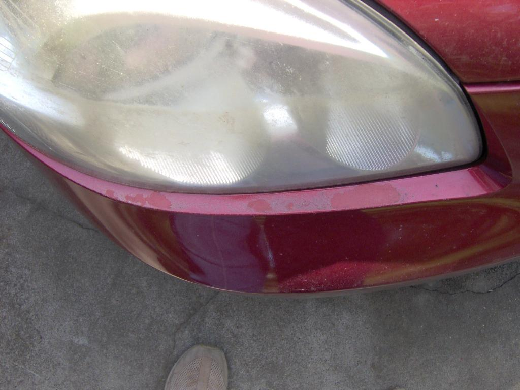 how to stop paint peeling from car