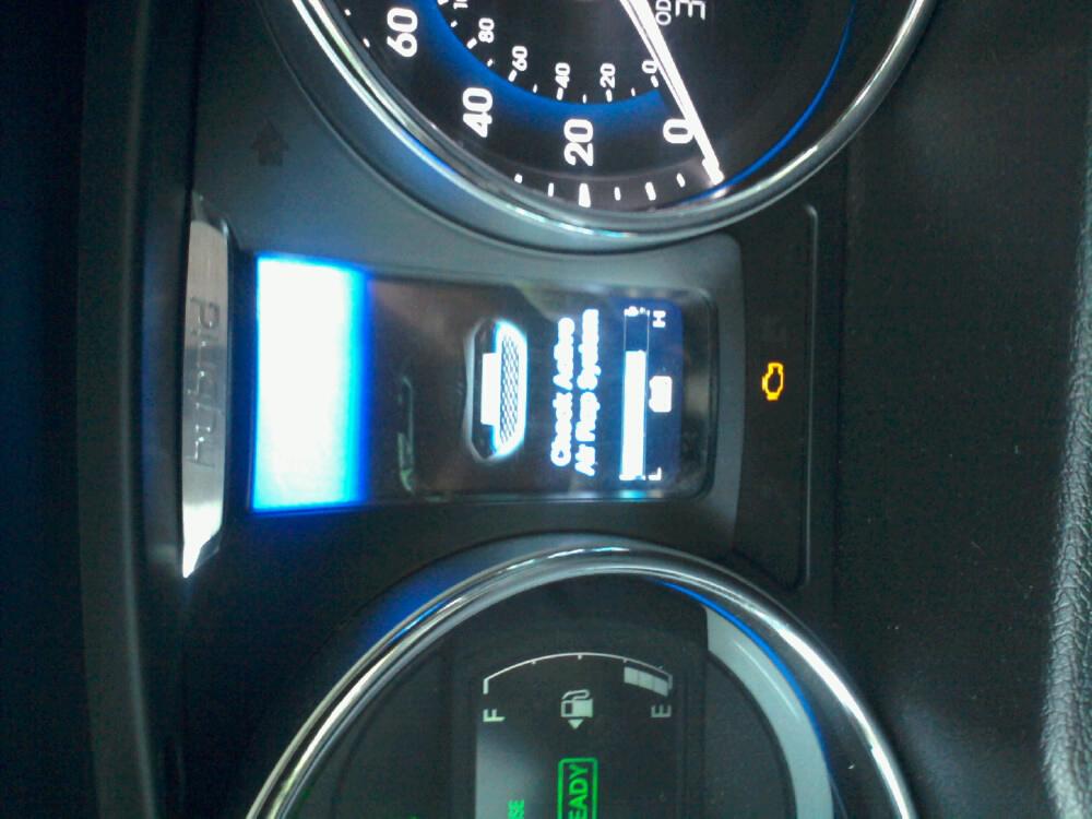 "2012 Hyundai Sonata Hybrid ""Check Active Air Flap System ..."