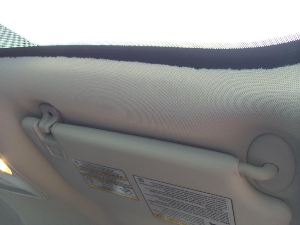 2016 Ford Escape Headliner Frayed 5 Complaints