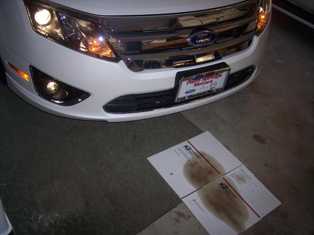 2011 Ford Fusion Hybrid Engine Oil Leak 1 Complaints