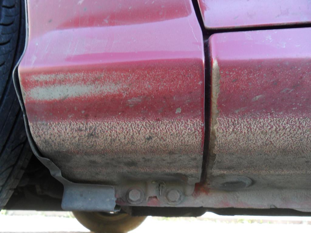 2010 Hyundai Elantra Paint Fading Clear Coat Coming Off 7