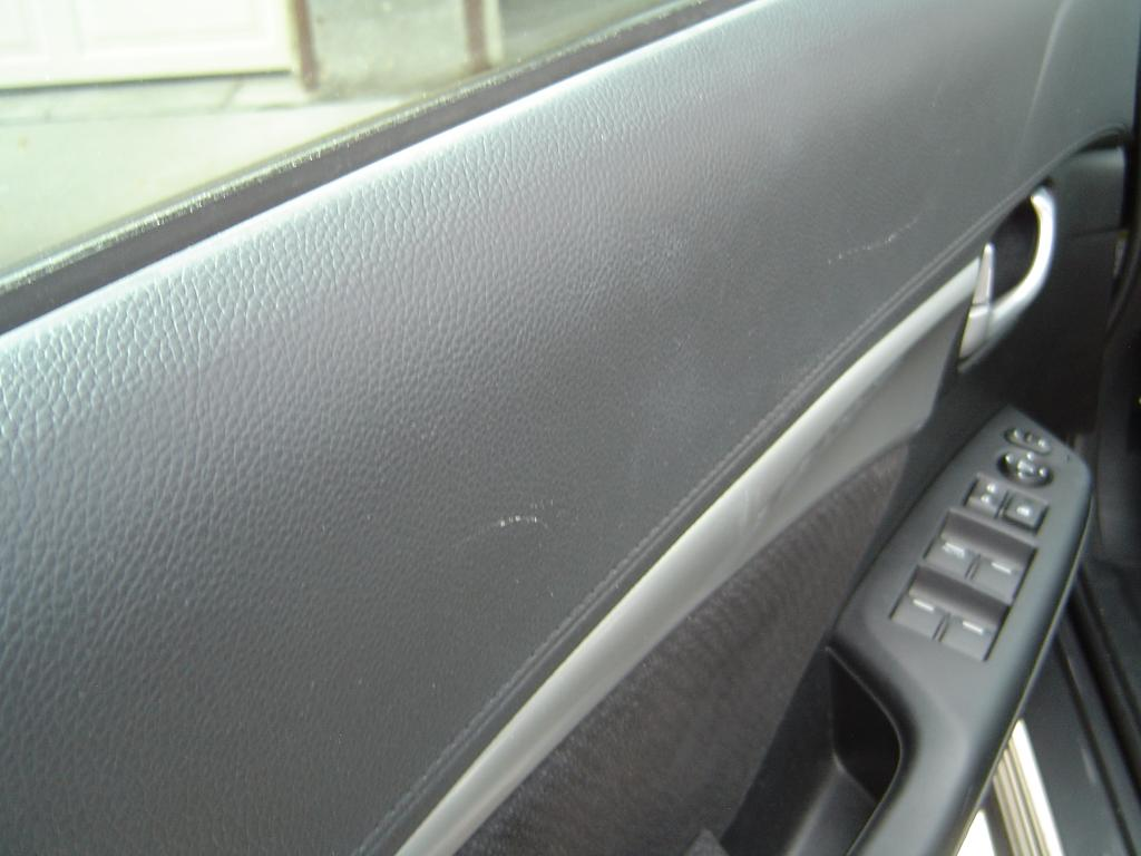Fading Discoloration Of Interior