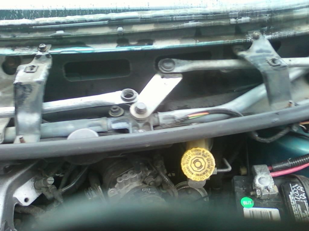 wiper arm assembly failed ...