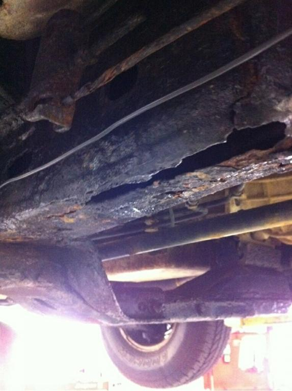 Fix My Car >> 2004 Chevrolet Colorado Rusted Out Frame: 6 Complaints