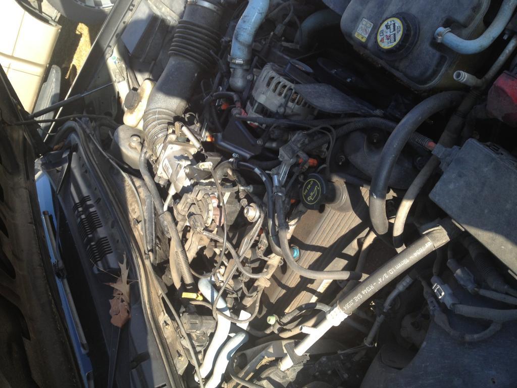Intake Manifold Gasket Leak : Ford crown victoria intake manifold gasket leak