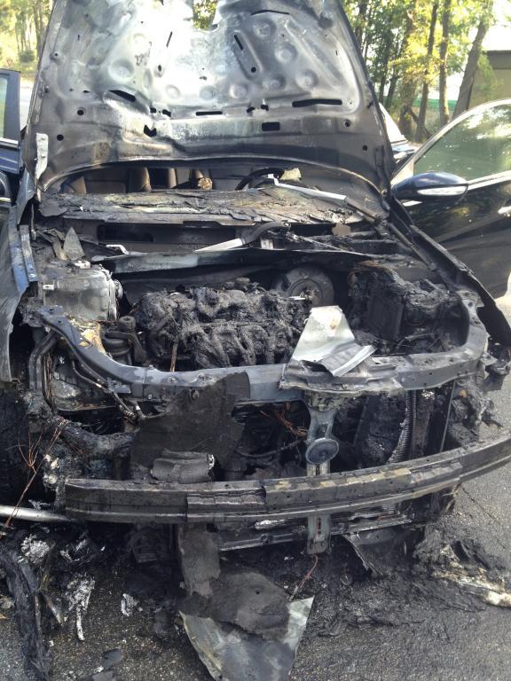 2011 Hyundai Sonata Gas Line Caught Fire After Repairing
