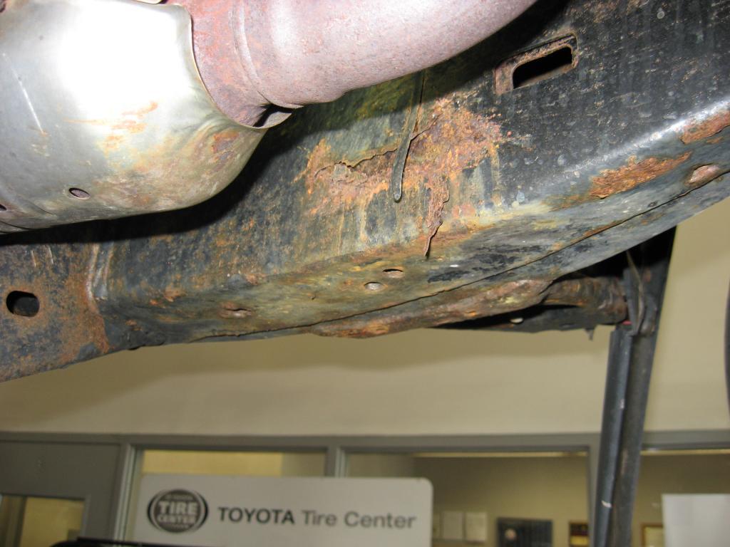 Car Frame Rust Paint