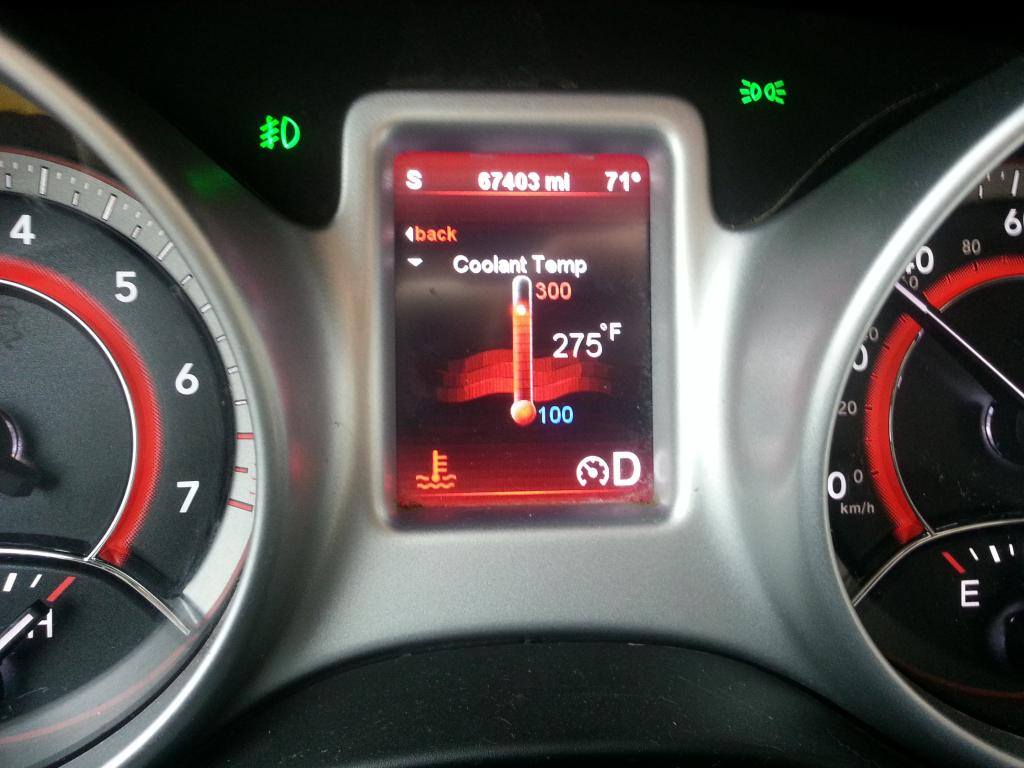 2011 Dodge Journey Overheating 1 Complaints