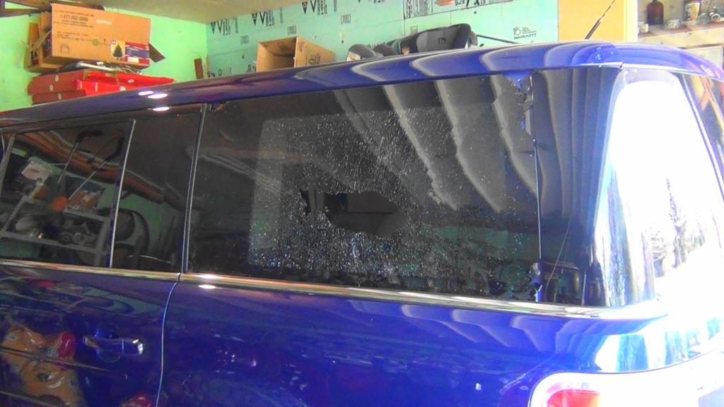 How To Fix Ac In Car >> 2014 Ford Flex Side Rear Window Shattered: 5 Complaints