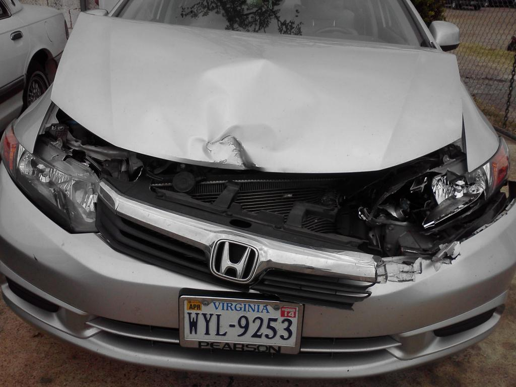 2012 Honda Civic Air Bags Did Not Deploy In Accident 5
