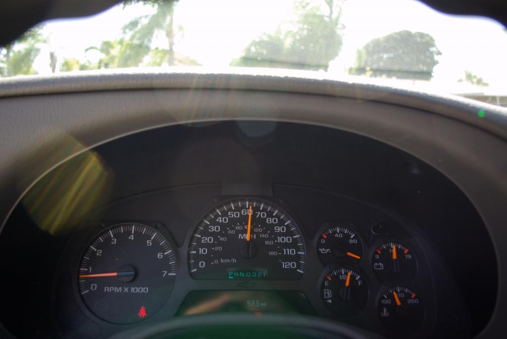 2003 Chevrolet Trailblazer Instrument Panel Malfunction ...
