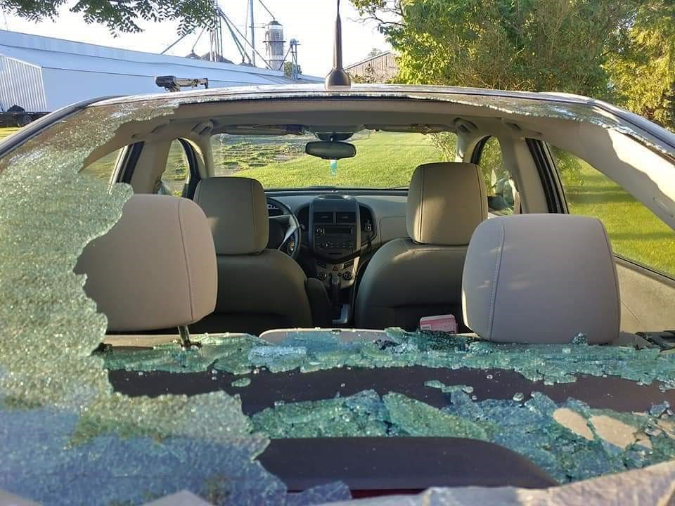 2012 Chevrolet Sonic Rear Window Exploded | CarComplaints com