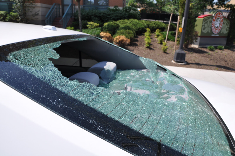 2010 Toyota Camry Rear Window Shattered 7 Complaints