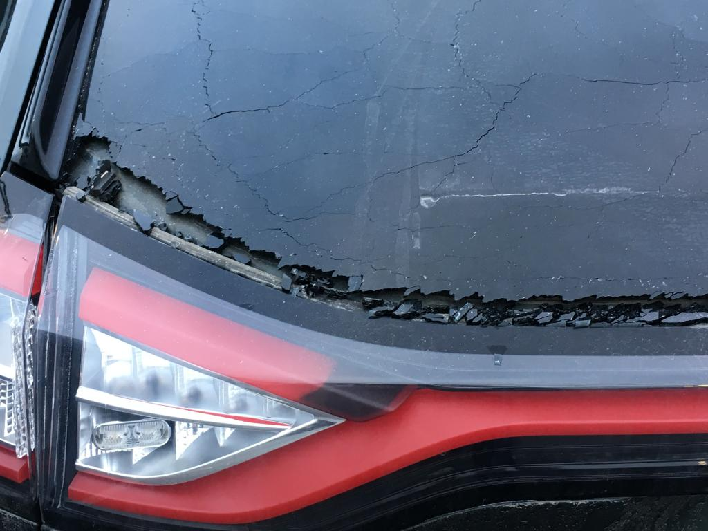 Ford Focus Transmission >> 2015 Ford Edge Rear Window Shattered: 7 Complaints