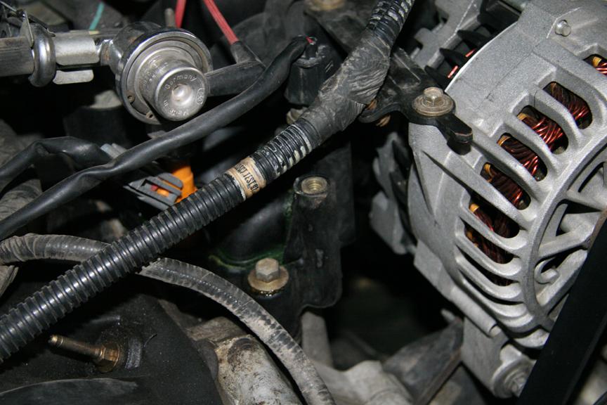 C Bf C A C B A C B A F R on Car Engine Coolant