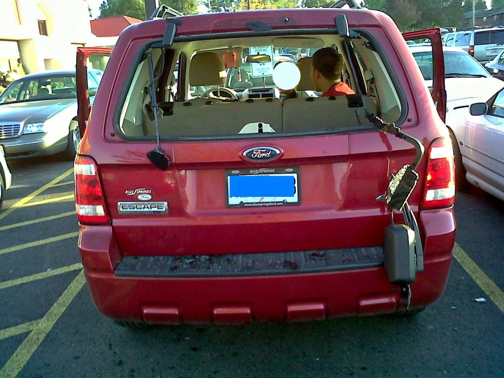 Lifted Ford Escape >> 2008 Ford Escape Back Hatch Lost Its Hydraulic Lift