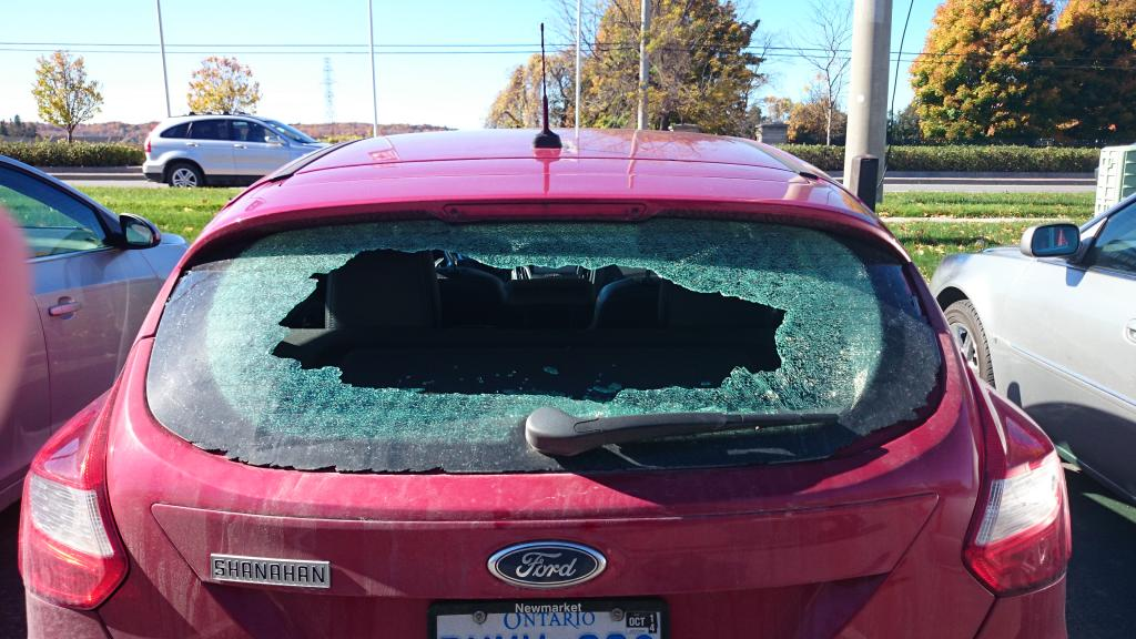 2012 Ford Focus Rear Window Exploded: 17 Complaints