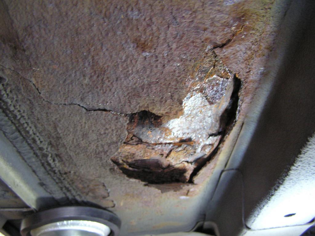 2003 Nissan Altima Rusted Floor Panels 7 Complaints