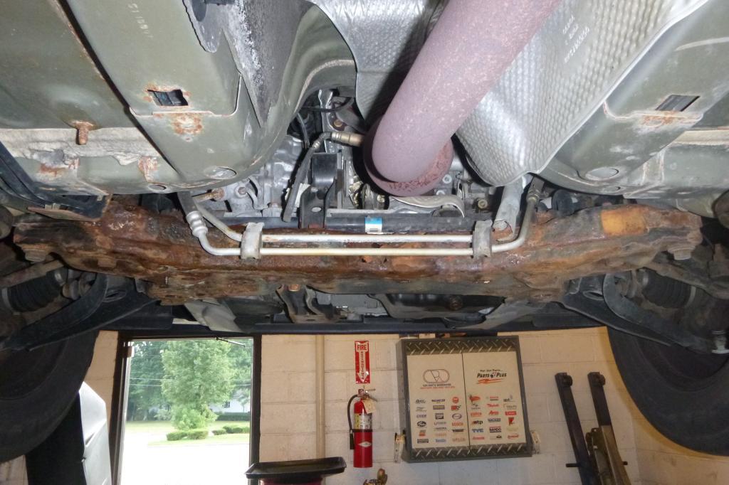 2009 Dodge Caliber Rusted Subframe 3 Complaints