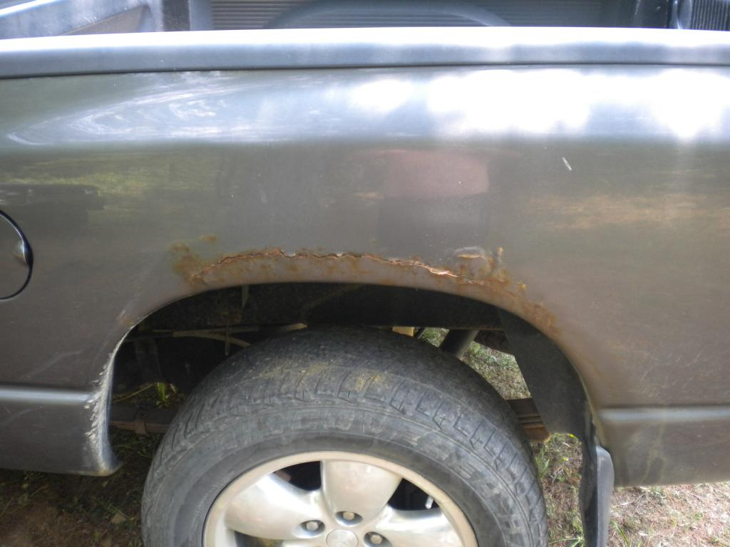 2002 Dodge Ram 1500 Body Is Rusting: 12 Complaints