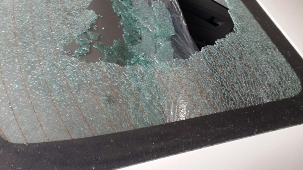 2016 Honda City Rear Window Shattered Without Apparent