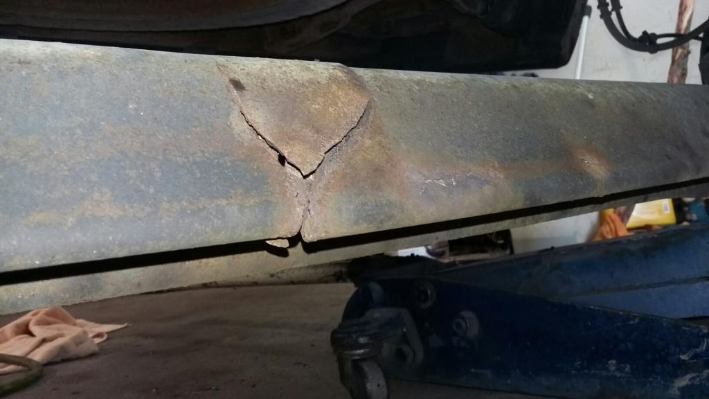 2002 Ford Windstar Rear Axle Broke In Half 31 Complaints