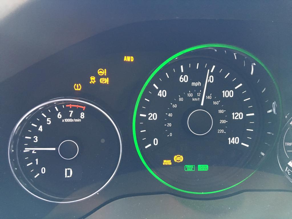 2016 Honda Hr V Warning Lights Come On After It Rains 2