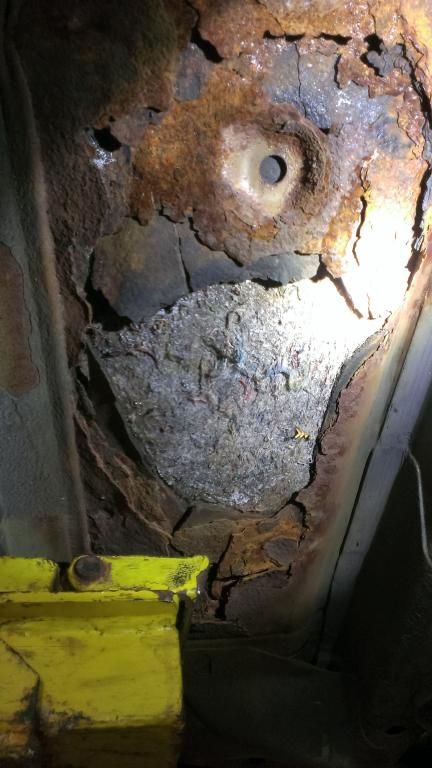 2006 Nissan Altima Floor Panels Rusting Out Prematurely