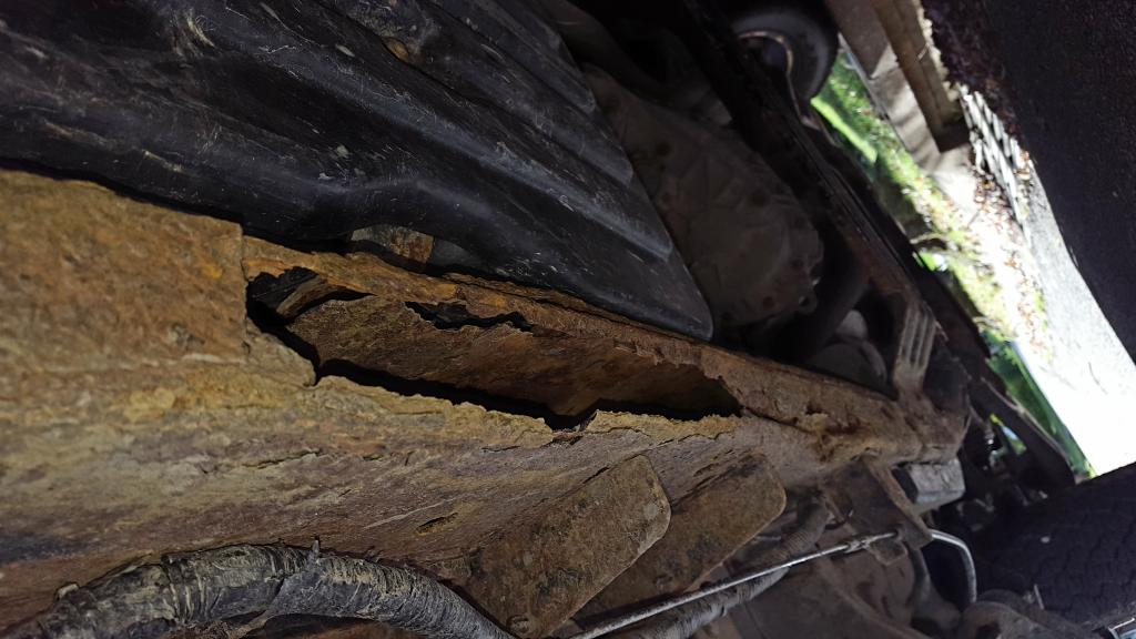 2004 Ford F 150 Frame Totally Rusted Out 17 Complaints