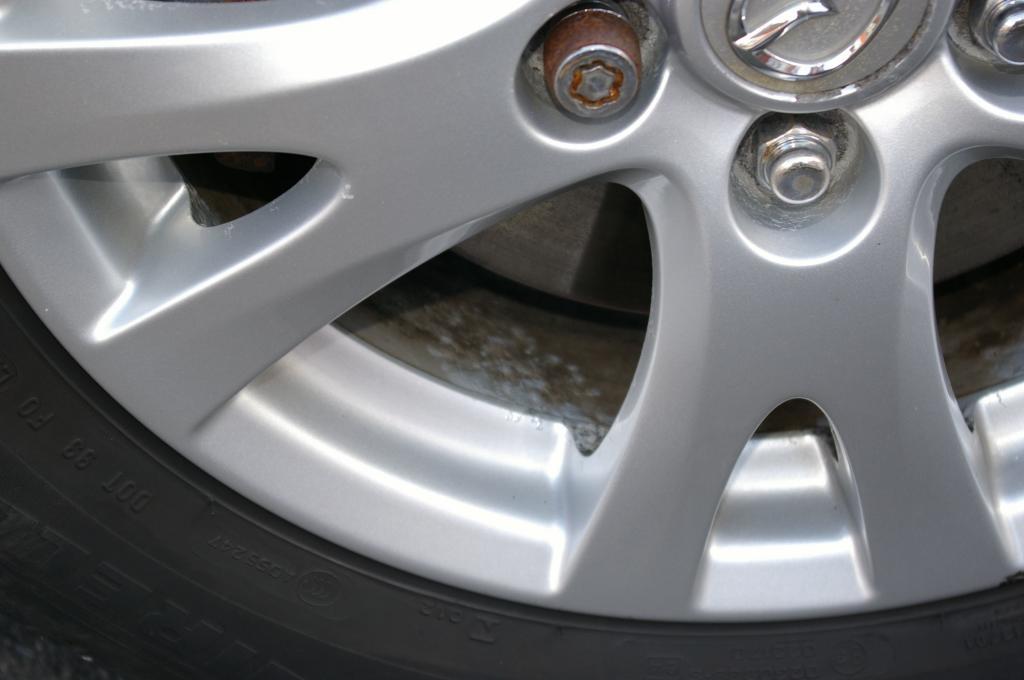 2009 Mazda Mazda6 Badly Corroded Alloys Carcomplaints Com