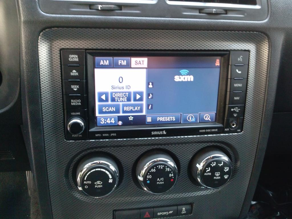 2012 Dodge Challenger Radio Touch Screen Channel Changer
