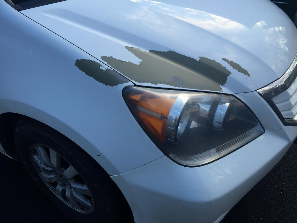 2008 Honda Odyssey Paint Bubbling And Peeling Off 19