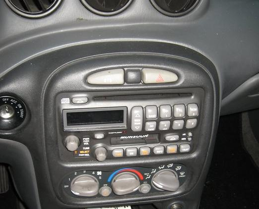 2003 Pontiac Grand Am Bulb In Radio Display Has Gone Out