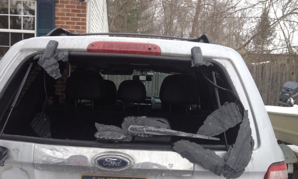 2011 Ford Escape Rear Window Exploded 14 Complaints
