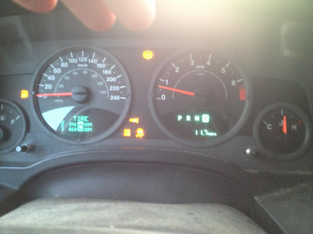 2008 Jeep Patriot Dash Warning Lights On 1 Complaints