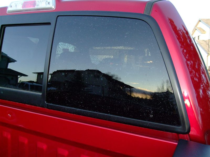 2012 Ford F-150 Rear Window Shattered While Driving: 8 ...