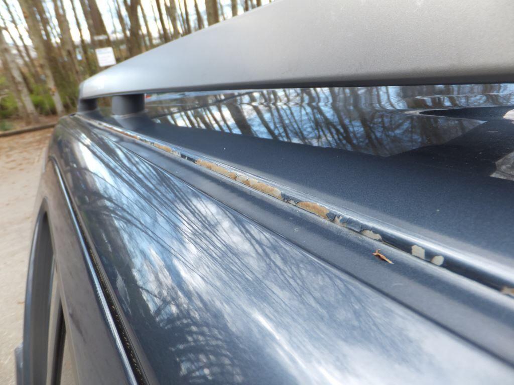 Paint Peeling Off Roof Car