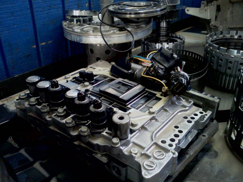 2007 Nissan Frontier Transmission Control Module Location