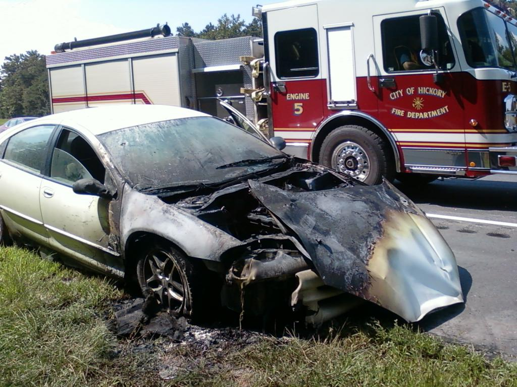 2003 Dodge Intrepid Engine Caught On Fire 2 Complaints