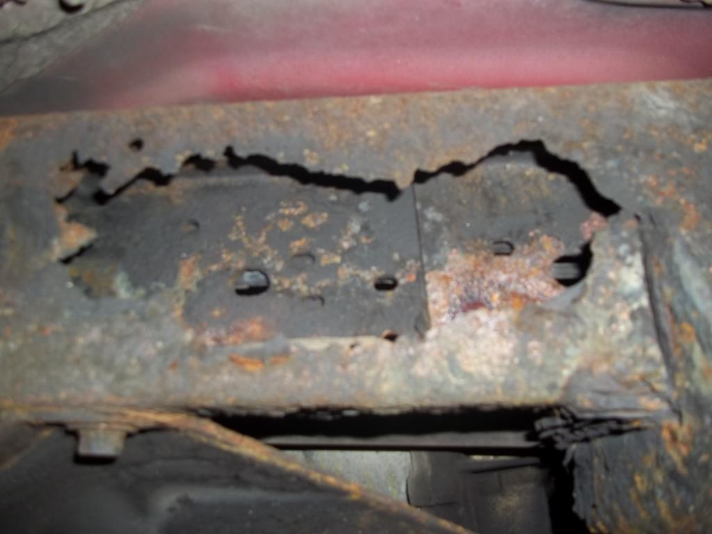 1997 Honda Passport Frame Is Rusting Out 3 Complaints