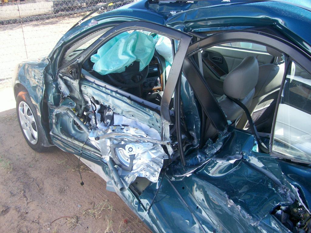 Hyundai Elantra: Air bag collision sensors