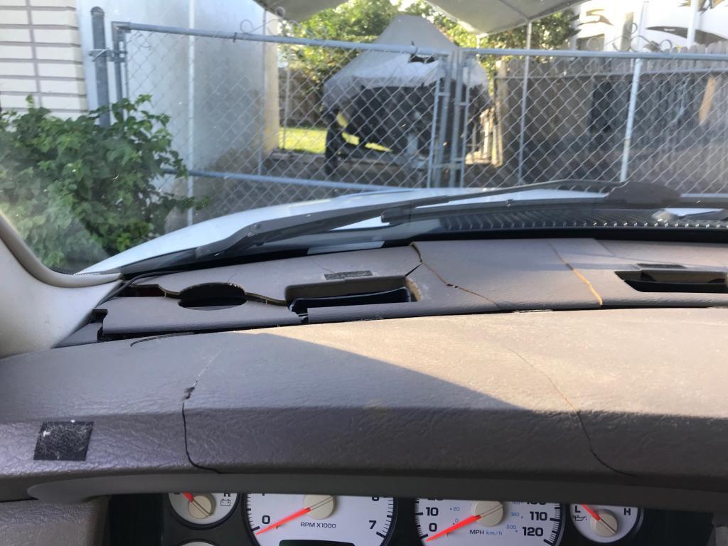 2003 Dodge Ram 1500 Cracked Dashboard  527 Complaints