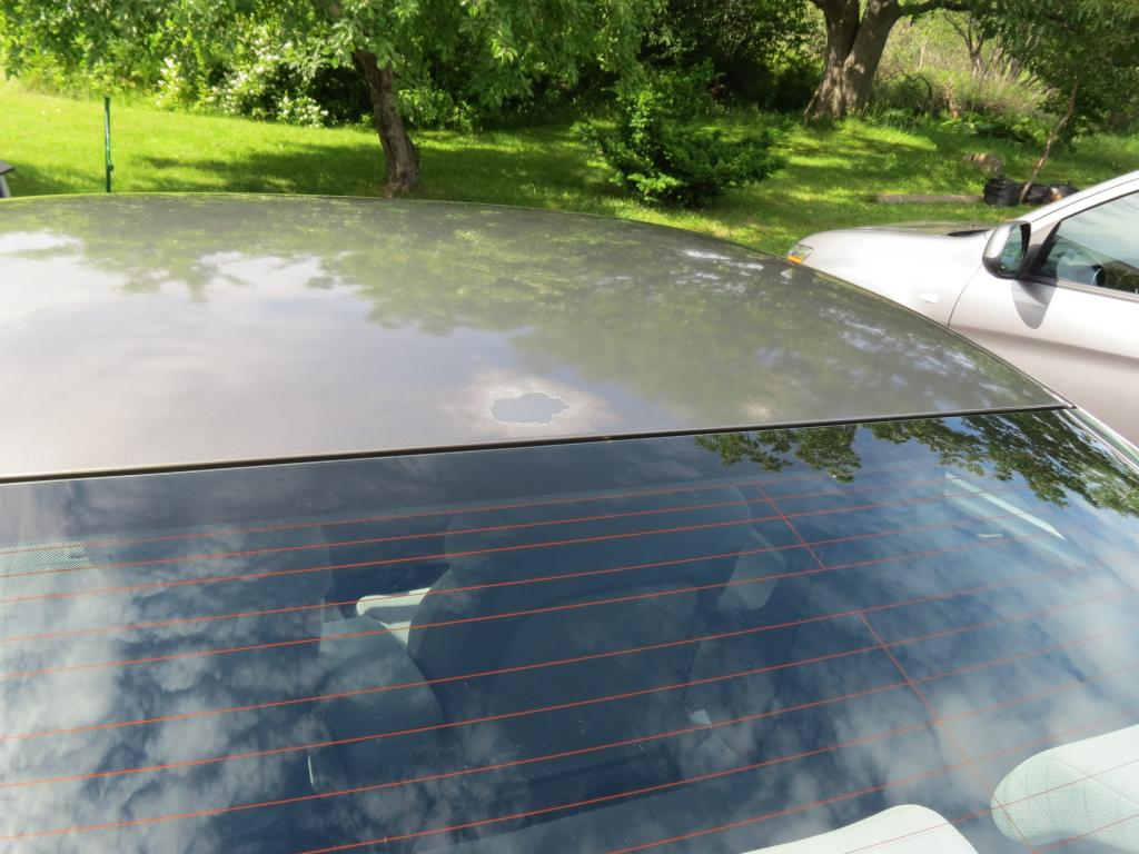 how to remove peeling clear coat