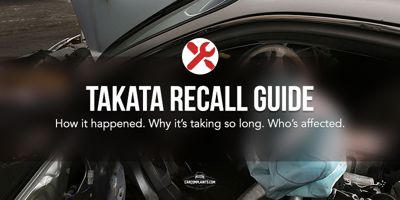 Your Guide to the Takata Recalls