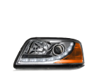 2001 Kia Rio lights problems