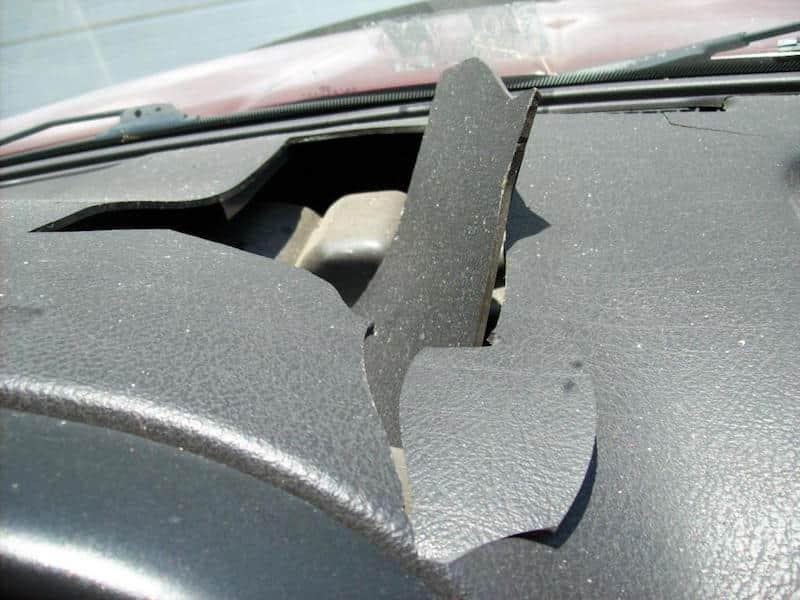 cracked dashboards dodge problems dodge problems