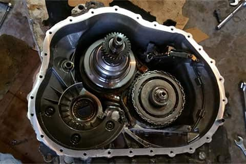 Explorer Transmission Failure
