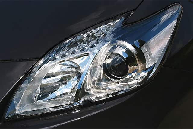 Prius Headlight Problems